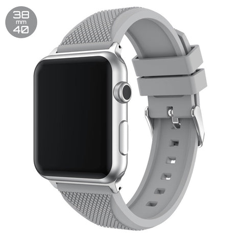 Grey Pineapple Silicone iWatch Band 38/40mm