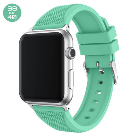 Mint Pineapple Silicone iWatch Band 38/40mm