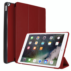 Dark Red Intelegente PC Case for iPad Pro 12.9 2015/2017