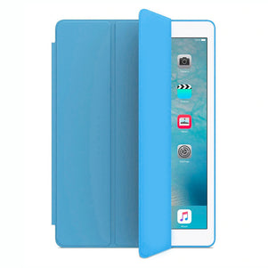 Light Blue Intelegente TPU Case for iPad 10.2
