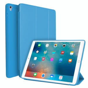 Light Blue Intelegente TPU Case for iPad Pro 9.7