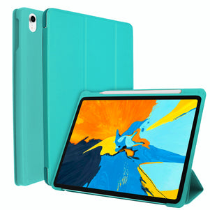 Turquoise Intelegente TPU Case for iPad Pro 11