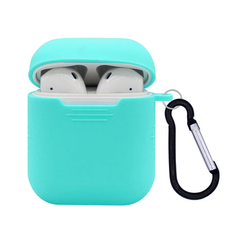 Light Turquoise Silicone AirPod Case