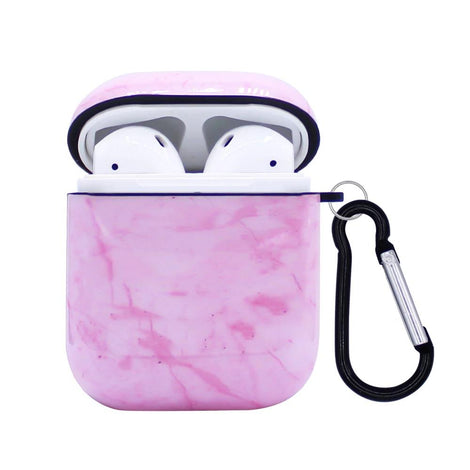 Pink Marble AirPod Case