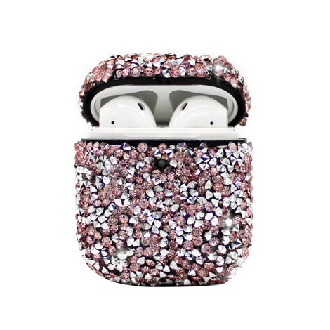 Pink Diamond Bling AirPod Case