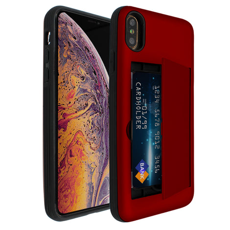 Red Carta Case for iPhone XS Max