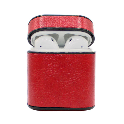 Red Box Leather AirPod Case