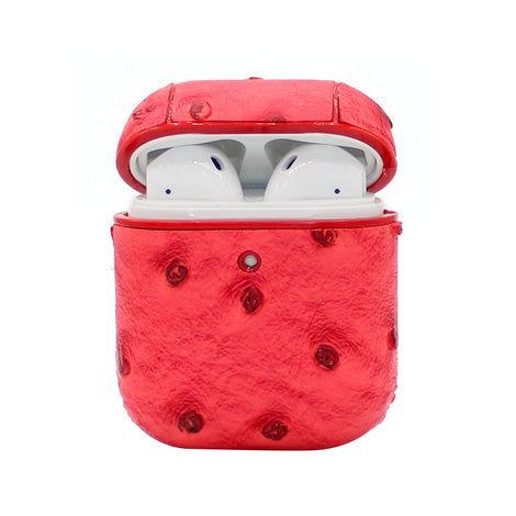 Red Ostrich AirPod Case