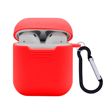 Red Silicone AirPod Case