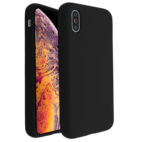 Black Silicona Case for iPhone X/XS