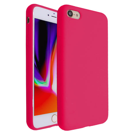 Hot Pink Silicona Case for iPhone 7/8