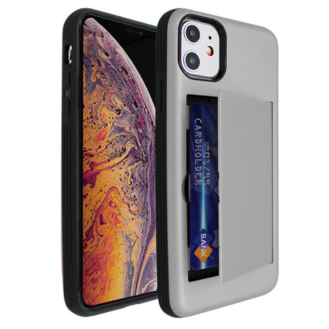 Silver Carta Case for iPhone 11