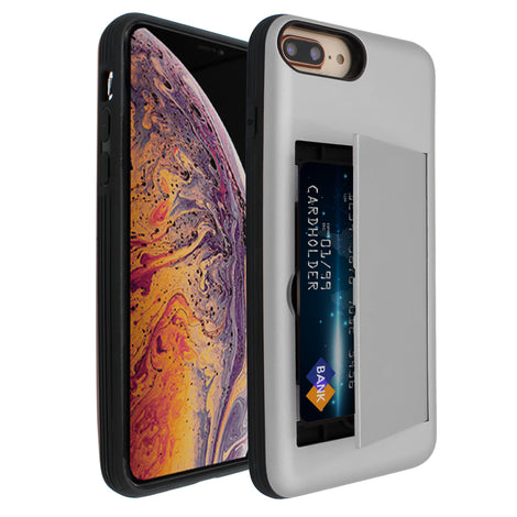 Silver Carta Case for iPhone 7/8 Plus