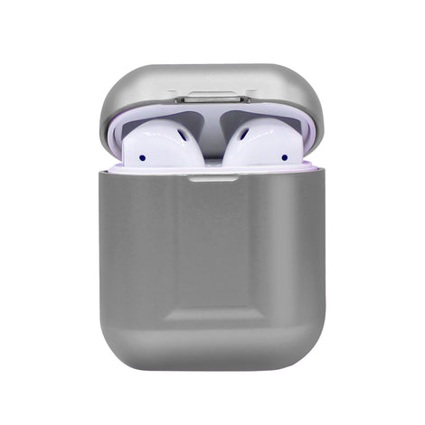 Silver Metal AirPod Case