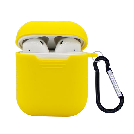 Yellow Silicone AirPod Case