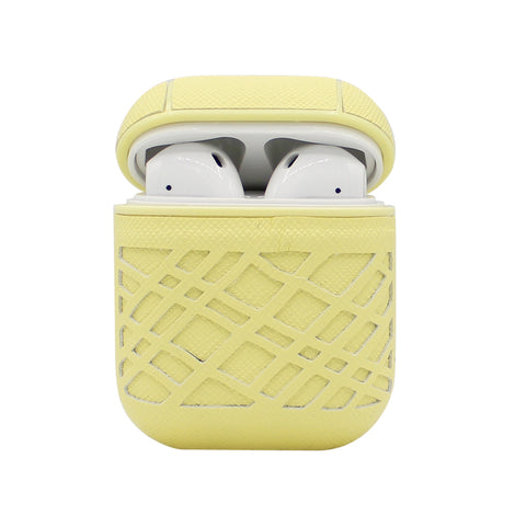 Yellow Weave AirPod Case