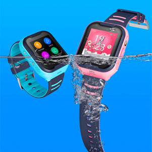 Pink A36 Kids Smart Watch (SIM)