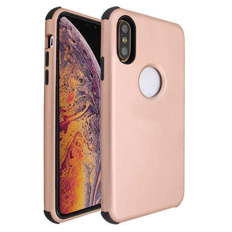 Rose Gold Forte Shock Case for iPhone X/XS