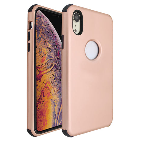 Rose Gold Forte Shock Case for iPhone XR