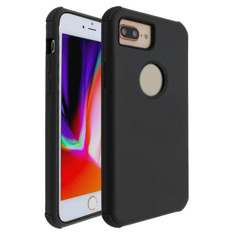 Black Forte Shock Case for iPhone 7/8 Plus