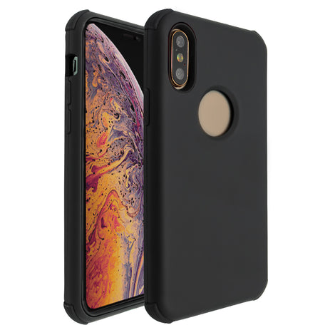 Black Forte Shock Case for iPhone X/XS