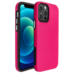 Pink Ibrido Tri Case for iPhone 12 / 12 Pro