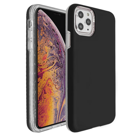 Black Ibrido Case for iPhone 11 Pro
