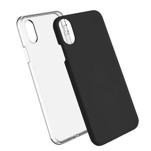 Black Ibrido Case for iPhone X/XS