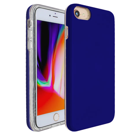 Blue Ibrido Case for iPhone 7/8