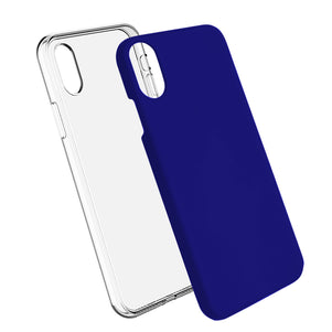 Blue Ibrido Case for iPhone XR