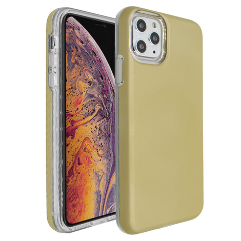Gold Ibrido Case for iPhone 11 Pro Max