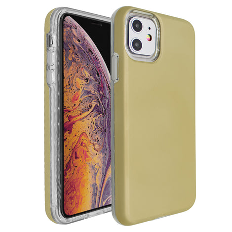 Gold Ibrido Case for iPhone 11