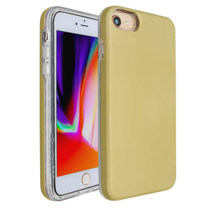 Gold Ibrido Case for iPhone 7/8