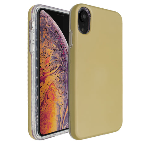 Gold Ibrido Case for iPhone XR