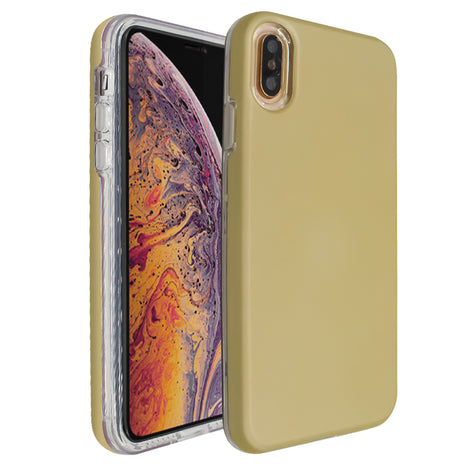 Gold Ibrido Case for iPhone XS Max