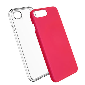 Pink Ibrido Case for iPhone 7/8 Plus