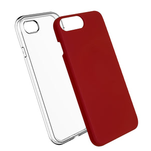 Red Ibrido Case for iPhone 7/8 Plus