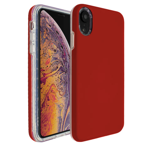 Red Ibrido Case for iPhone XR
