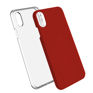 Red Ibrido Case for iPhone X/XS