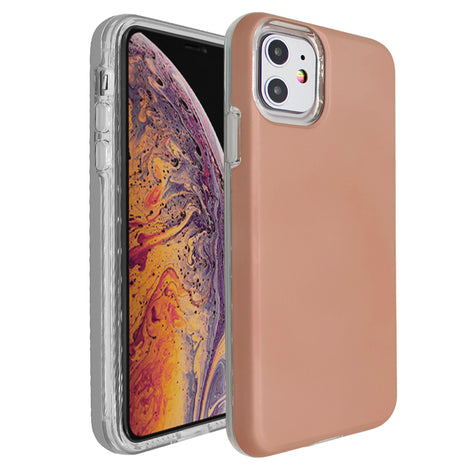 Rose Gold Ibrido Case for iPhone 11