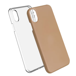 Rose Gold Ibrido Case for iPhone X/XS