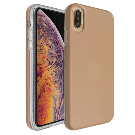 Rose Gold Ibrido Case for iPhone XS Max