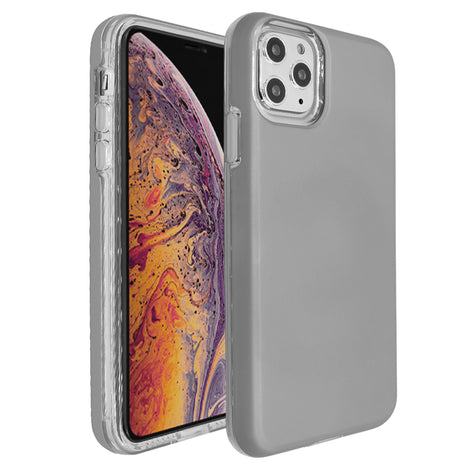 Silver Ibrido Case for iPhone 11 Pro