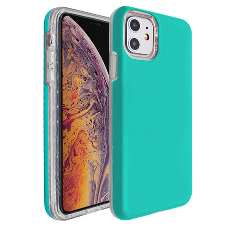 Teal Ibrido Case for iPhone 11