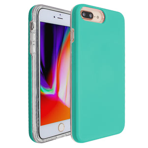 Teal Ibrido Case for iPhone 7/8 Plus