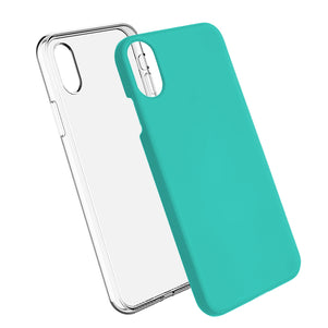 Teal Ibrido Case for iPhone X/XS