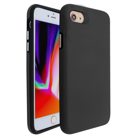 Black Ibrido Tri Case for iPhone 7/8