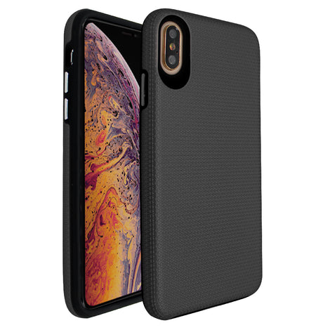 Black Ibrido Tri Case for iPhone X/XS