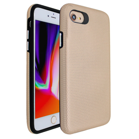 Gold Ibrido Tri Case for iPhone 7/8