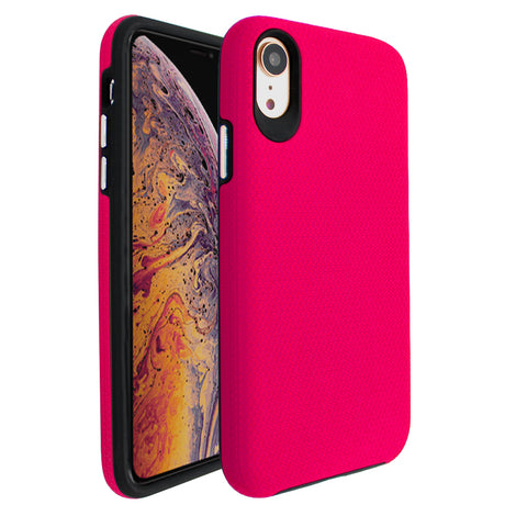 Pink Ibrido Tri Case for iPhone XR